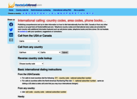 howtocallabroad.com