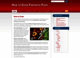 howtocookfantasticfood.com