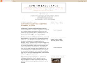 howtoencourage.blogspot.nl