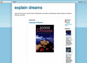 howtoexplaindreams.blogspot.com
