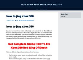howtofixxboxerrorcode80072ef3.wordpress.com