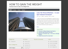 howtogaintheweight.org