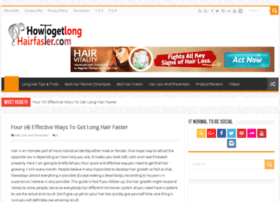 howtogetlonghairfaster.com