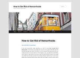 howtogetridofhemorrhoid.com