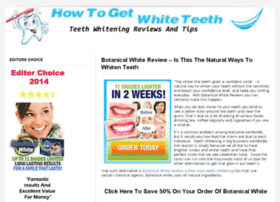 howtogetwhiteteeth.org