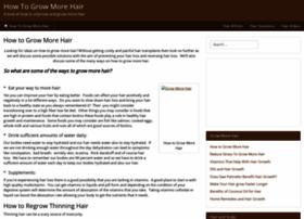 howtogrow-morehair.com