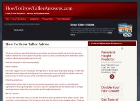howtogrowtalleranswers.com