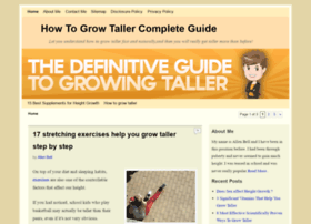 howtogrowtallereffectively.com