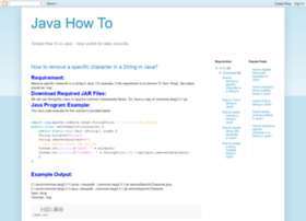 howtoinjava.blogspot.com