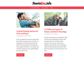 howtokiss.info