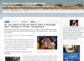 howtolearnalanguagefast.net