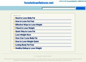 howtolosefatnow.net