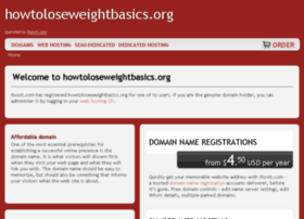 howtoloseweightbasics.org