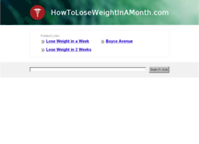 howtoloseweightinamonth.com