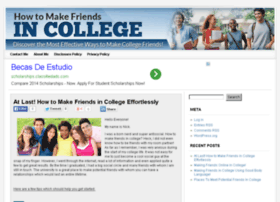 howtomakefriendsincollege.org
