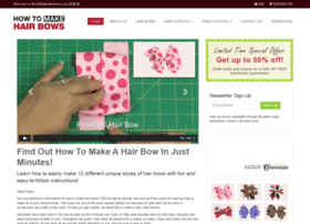 howtomakehairbows.com