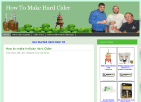 howtomakehardcider.net