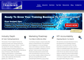 howtomarkettraining.com