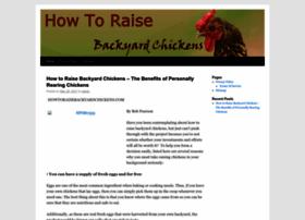 howtoraisebackyardchickens.com