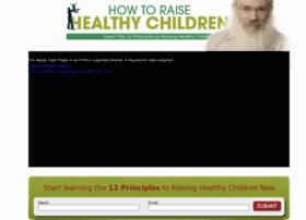 howtoraisehealthychildren.com