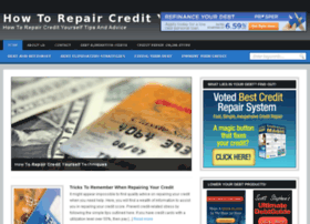 howtorepaircredityourself.com