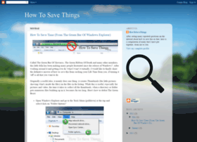 howtosavethings.blogspot.com