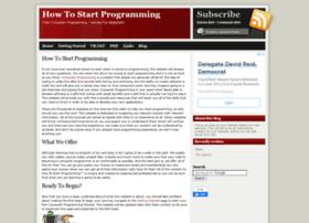 howtostartprogramming.com