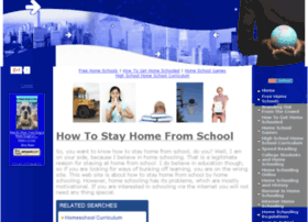 howtostayhomefromschool.com