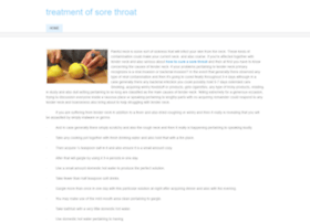 howtotreatsorethroatdisease.weebly.com