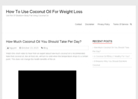 howtousecoconutoilforweightloss.com