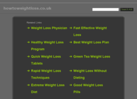 howtoweightloss.co.uk