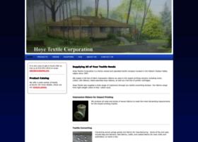 hoyetextile.com
