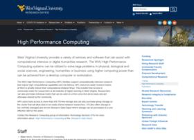 hpc.wvu.edu