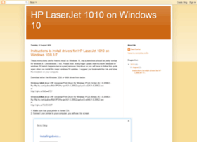 hplaserjet1010onwindows10.blogspot.co.uk
