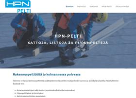 hpn-pelti.fi
