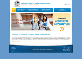 hptsb.onlineadmission.net