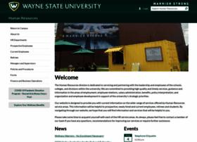 hr.wayne.edu