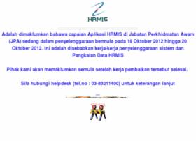 hrmisone.eghrmis.gov.my Visit site