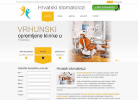 hrvatskistomatolozi.com