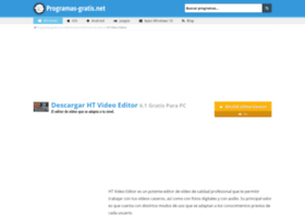 ht-video-editor.programas-gratis.net