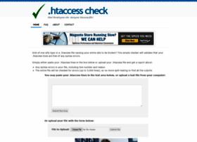 htaccesscheck.com