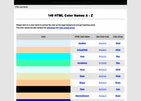 html-color-names.com
