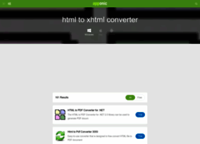 html-to-xhtml-converter.apponic.com