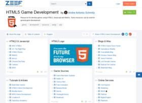 html5-game-development.zeef.com