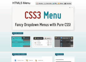 html5-menu.com