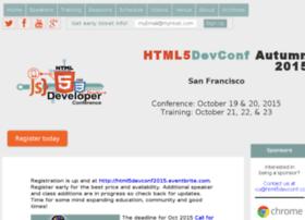 html5devconf.com