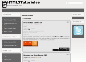 html5tutoriales.com