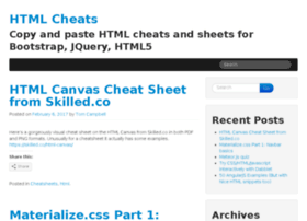 htmlcheats.com