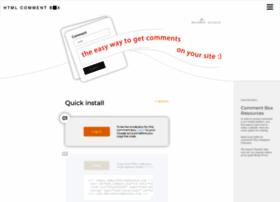 htmlcommentbox.com