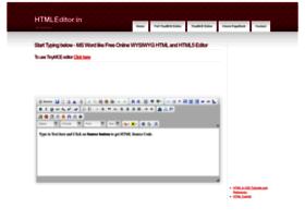htmleditor.in